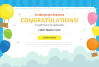 Kindergarten Certificate Free Vector Art  21 Free intended for Free Graduation Gift Certificate Template Free
