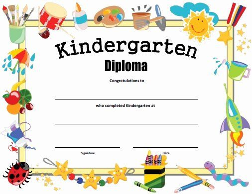 Kindergarten Certificates Of Completion Fresh Married2Med pertaining to Amazing Daycare Diploma Certificate Templates