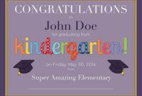 Kindergarten Diploma  Free Printable  Frugal Novice inside Quality 10 Kindergarten Graduation Certificates To Print Free