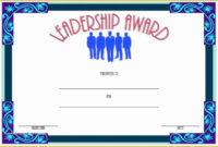 Leadership Certificate Template Free Of Leadership with regard to Leadership Award Certificate Templates