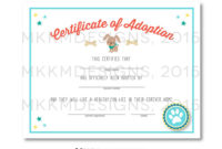 Lets Pawty Puppy Party Ideas And Free Printables  Puppy throughout Awesome Dog Adoption Certificate Free Printable 7 Ideas