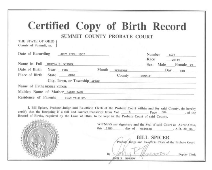 Live Birth Certificate Debt Loan Payoff Of Template With for Birth Certificate Fake Template