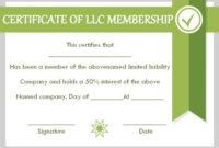 Llc Membership Certificate Template 10 Templates To Fill intended for Llc Membership Certificate Template Word