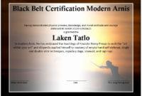 Martial Arts Certificate Maker Fresh Martial Arts Event regarding Baby Shower Winner Certificates
