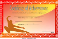 Martial Arts Certificate Templates  8 Great Design Ideas pertaining to Printable School Promotion Certificate Template 10 New Designs Free