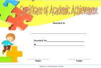 Math Achievement Certificate Template 8 Free Download in Free Academic Achievement Certificate Template