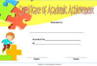 Math Achievement Certificate Template 8 Free Download with Awesome Academic Achievement Certificate Templates