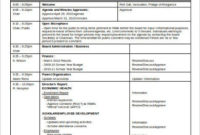 Meeting Agenda Template  10 Free Word Documents Download with Agenda And Meeting Minutes Template