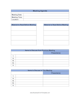 Meeting Agenda Template with regard to Weekly One On One Meeting Agenda Template