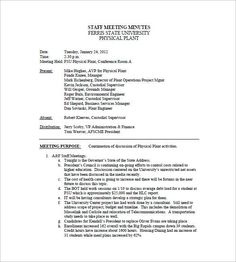 Meeting Minutes Templates in Awesome School Board Agenda Template