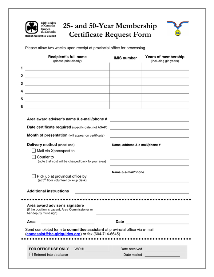 Membership Certificate  Download Free Documents For Pdf in Life Membership Certificate Templates