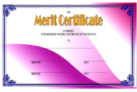 Merit Certificate Templates Free Top 10 Award Ideas intended for Best Merit Award Certificate Templates