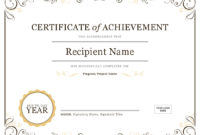 Microsoft Word Award Certificate Template  Professional with Best Certificate Of License Template