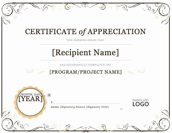 Microsoft Word Diploma Template Lovely Award Templates within Microsoft Word Award Certificate Template