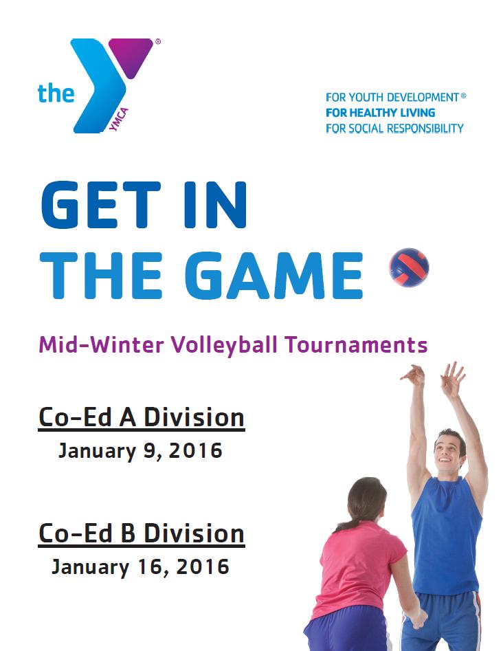 Midwinter A Volleyball Tournament  Chambersburg Memorial for Volleyball Tournament Certificate