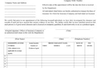 Mississippi Certificate Of Authority/Appointment Form for Quality Certificate Of Authorization Template