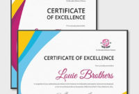 Modern Dance Certificate Template  Word Doc  Psd in Dance Award Certificate Templates