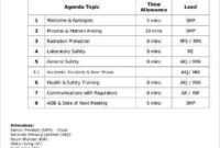 Monthly Agenda Templates  9 Free Word Pdf Documents inside Business Strategy Meeting Agenda Template