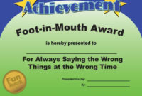 Most Likely To Awards  Funny Office Awards Funny Awards in Free Most Likely To Certificate Templates
