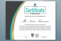 Multipurpose Professional Certificate Template Design for Professional Award Certificate Template