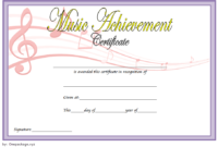 Music Certificate Template For Word Free 12 Fresh Ideas for Awesome Free Printable Certificate Of Promotion 12 Designs