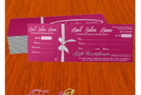 Nail Gift Certificate 046 with Amazing Nail Gift Certificate Template Free