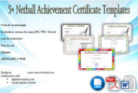 Netball Participation Certificate Templates 7 intended for Quality Download 10 Basketball Mvp Certificate Editable Templates