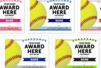 Online Template Softball Award Certificates  Instant throughout Best Printable Softball Certificate Templates
