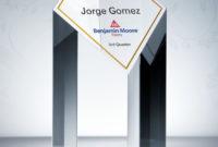 Outstanding Achievement Award Plaque  Achievement Awards within Free Outstanding Achievement Certificate