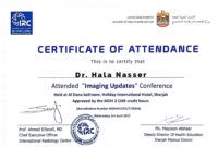 Participation Certificate Template Word  Sinda intended for Certificate Of Attendance Conference Template