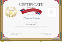 Participation Certificate Templates Free Download  Great regarding Awesome Participation Certificate Templates Free Download