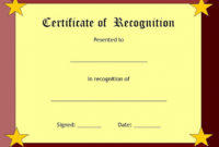 Pdfsappreciationcertificateprintable for Quality Free Certificate Of Appreciation Template Downloads