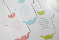 Personalized Baby Shower Thank You Favor Gift Wine Tags for Baby Shower Gift Certificate Template Free 7 Ideas