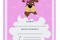 Pet Birth Certificate Template  7 Editable Designs Free for Stuffed Animal Birth Certificate Templates
