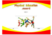 Physical Education Certificate Template Editable 8 Free with regard to Quality Download 10 Basketball Mvp Certificate Editable Templates
