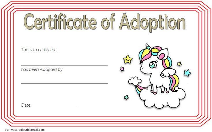 Pin On Adoption Certificate Free Ideas intended for Dog Adoption Certificate Editable Templates