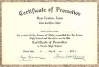 Pin On Best Templates Ideas pertaining to Promotion Certificate Template