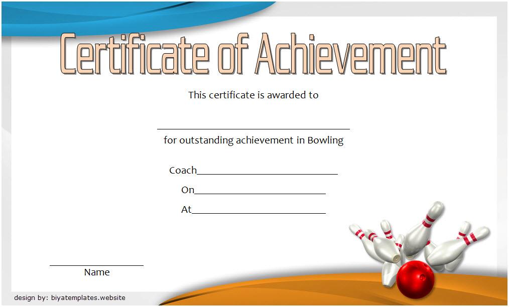 Pin On Bowling Certificates Free Printable 2020 inside Free Bowling Certificate Template