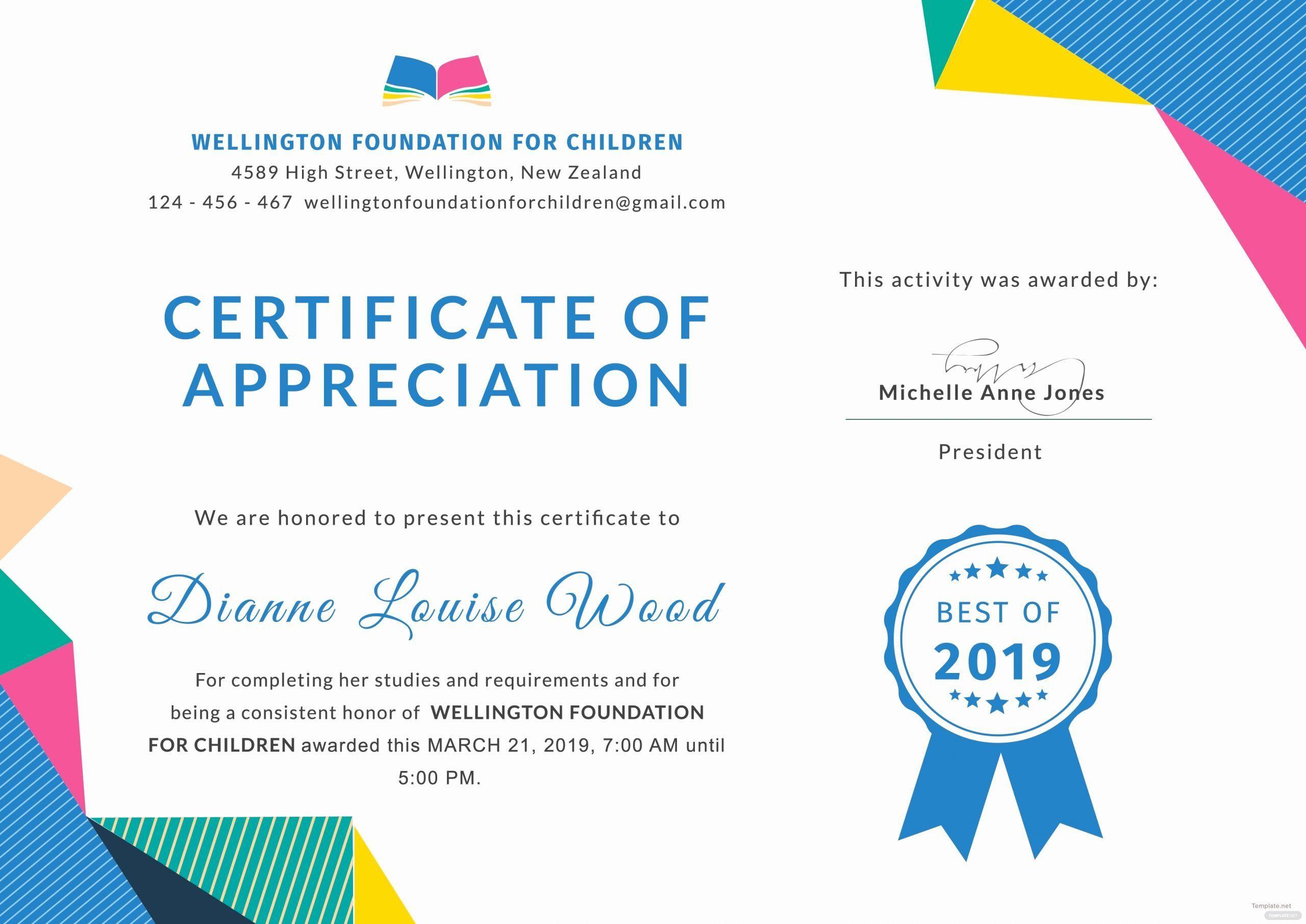 Pin On Certificate Customizable Design Templates in Best Classroom Certificates Templates