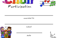 Pin On Certificate Templates intended for Amazing Choir Certificate Template
