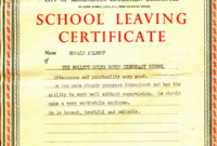 Pin On Certificate Templates with Leaving Certificate Template