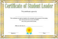 Pin On Greatest Student Leadership Certificate Template Ideas pertaining to Free Outstanding Student Leadership Certificate Template Free