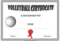 Pincoral Berta On All Things Volleyball  Volleyball throughout Amazing Volleyball Award Certificate Template Free