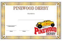 Pinewood Derby Certificate Template  7 Greatest Designs throughout Awesome Worlds Best Mom Certificate Printable 9 Meaningful Ideas