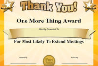 Pingaby On Silly Awards  Teacher Awards Employee regarding Amazing Most Likely To Certificate Template 9 Ideas