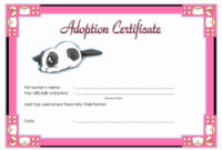 Pinjennifer Lowe  Printable Lett On Cute Shit In 2020 for Amazing Stuffed Animal Adoption Certificate Template Free