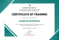 Pinjim He On Resumes  Training Certificate intended for Editable Swimming Certificate Template Free Ideas