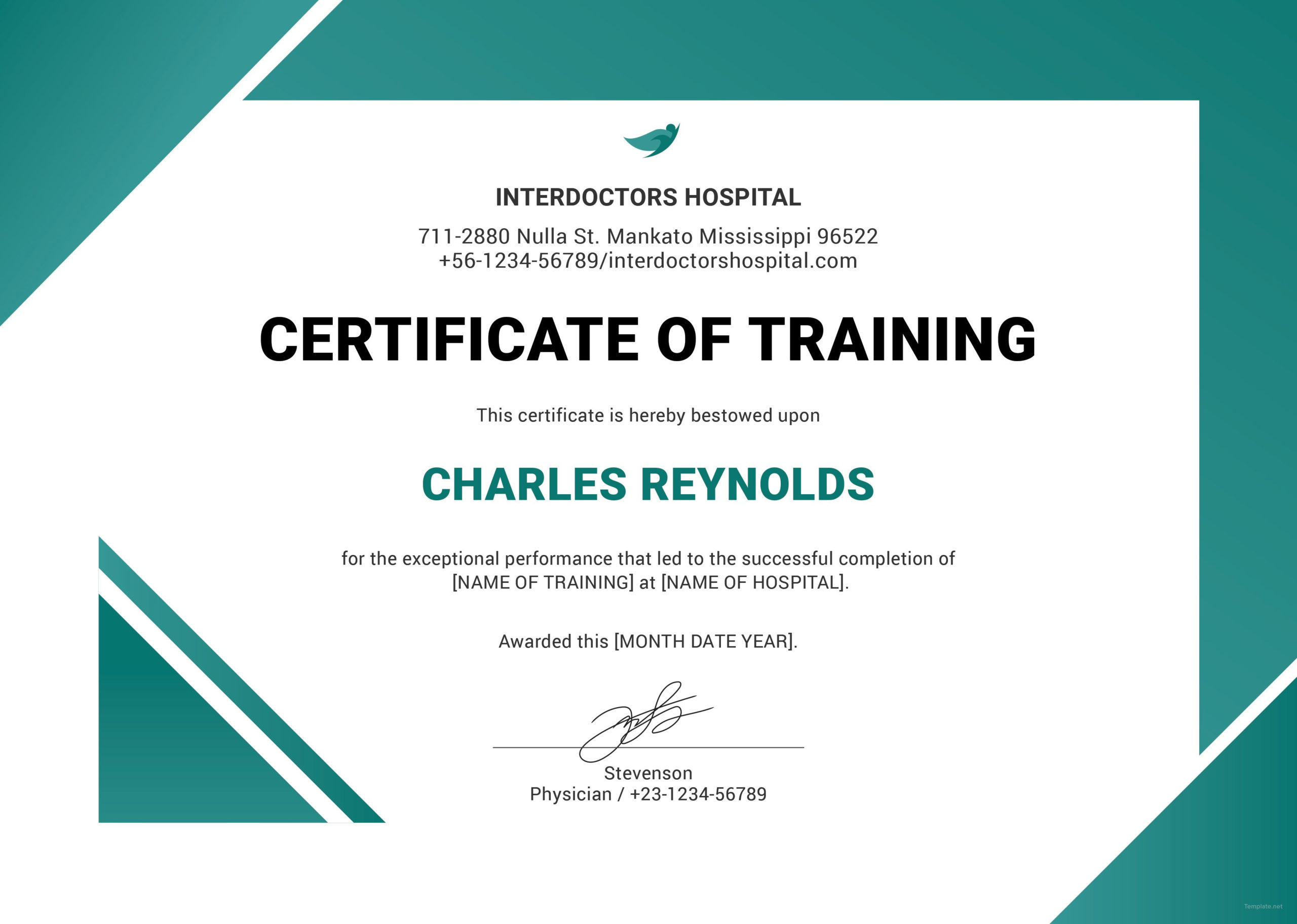 Pinjim He On Resumes  Training Certificate with Quality Training Completion Certificate Template 10 Ideas