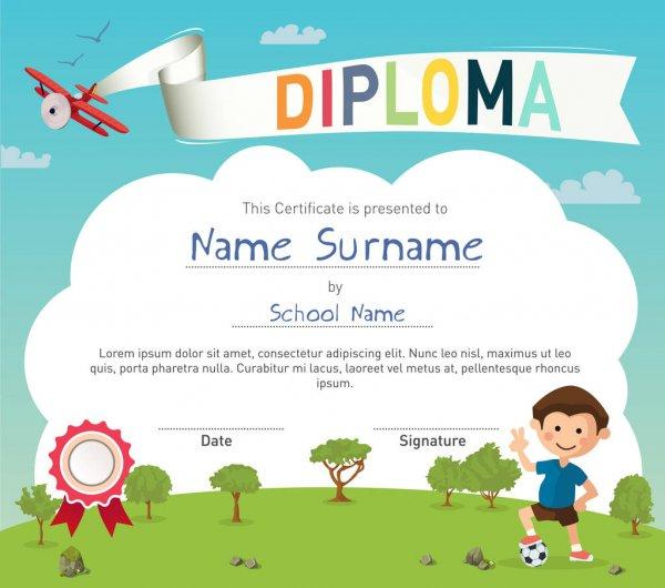 Pittoresco Attestato Di Partecipazione Per Bambini throughout Best Certificate For Summer Camp Free Templates 2020