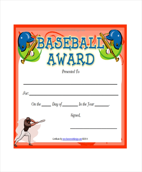 Player Of The Day Certificate Template 3 for Sports Day Certificate Templates Free